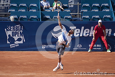 Benoit Paire Editorial Image