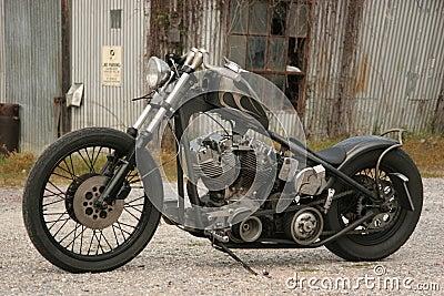 Bens Grey Bike