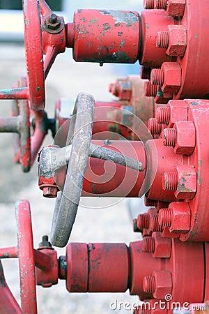 Bent valve handle
