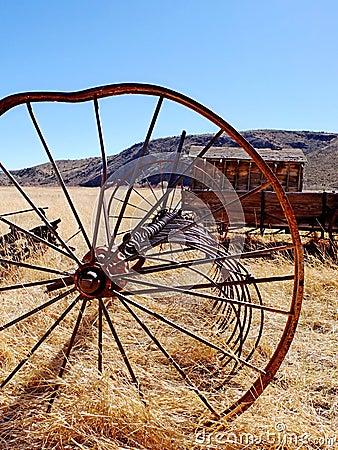 Bent wheel