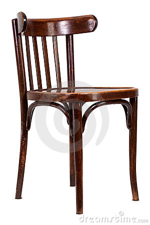 Bent-wood chair