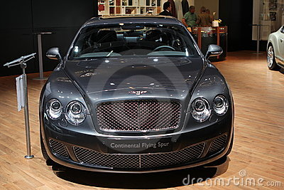 Bentley on 64rd IAA Editorial Photo