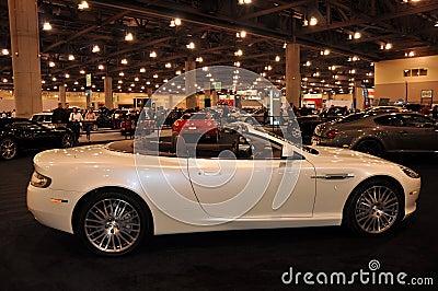Bentley at Auto Show Editorial Photo