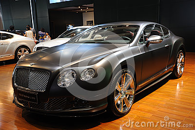 Bentley Continenta GT Mulliner Editorial Stock Photo
