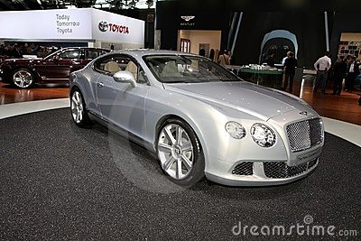 The Bentley Continental GT Editorial Stock Image