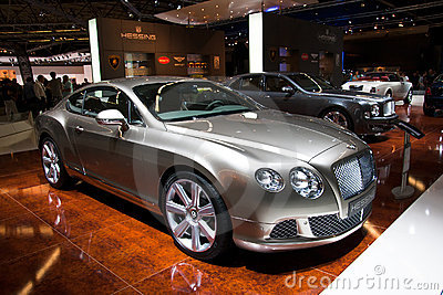 Bentley Continental GT Editorial Stock Image