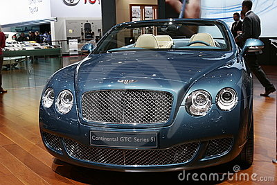 Bentley continental GTC series 5 Editorial Stock Photo