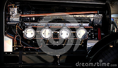 Bentley engine 1925 Editorial Image