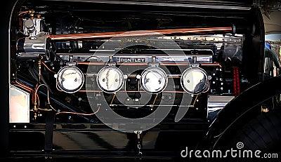 Bentley engine 1925 Editorial Image