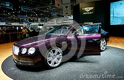 Bentley Flying Spur 2014 Editorial Stock Image