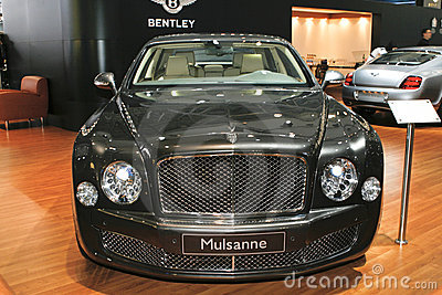 Bentley Mulsanne Editorial Stock Photo