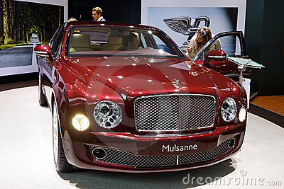 Bentley Mulsanne Editorial Image