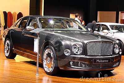Bentley Mulsanne at Motor Show 2010, Geneva Editorial Image