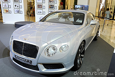 BENTLEY New Continental GT V8 Editorial Stock Photo