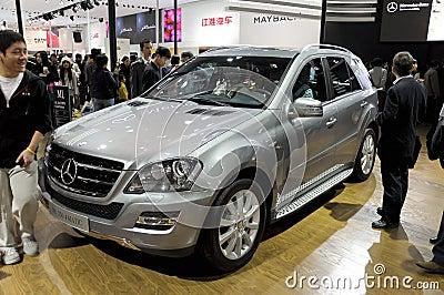 Benz mercedes ml350 Redaktionell Foto