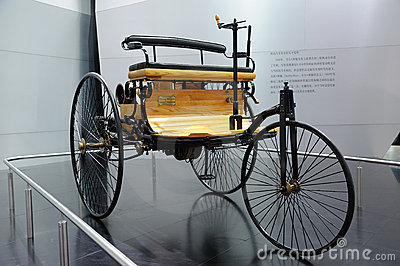 Benz Patent Motor-wagen Editorial Stock Photo