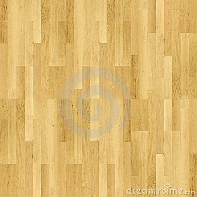 Beżowy parquet