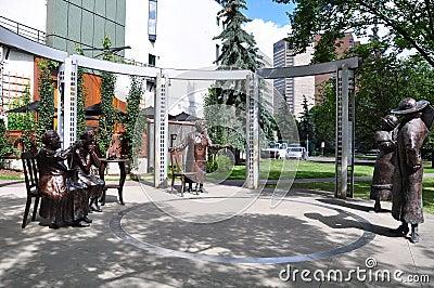 Berömd staty fem Redaktionell Bild