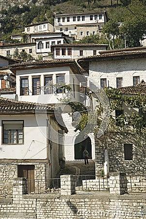 Berat albania architecture