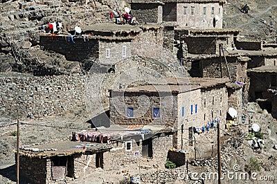 Berber cliff dwellings