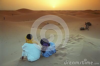 Berber guides Editorial Stock Photo
