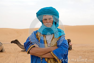 Berber man Editorial Stock Image