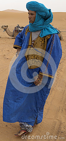 Berber man Editorial Photography