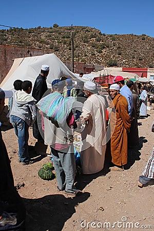 Berber market Editorial Image
