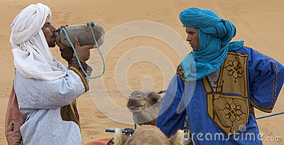 Berber men Editorial Stock Image