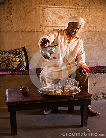 Berber Tea Editorial Stock Image