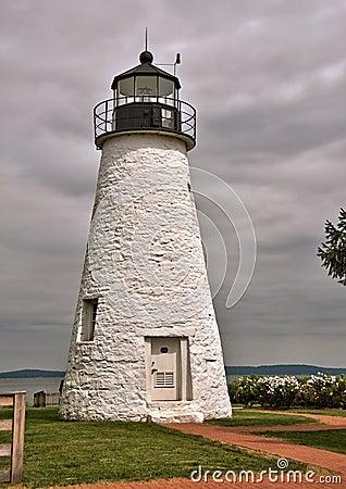 Übereinstimmungs-Punkt-Leuchtturm in Havre de Grace, Maryland