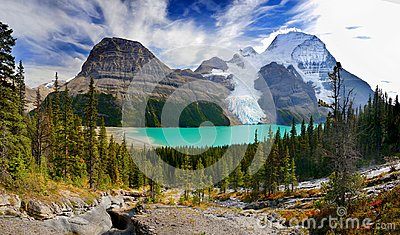 Berg Lake, Glacier, Mount Robson Park, Canadian Rockies