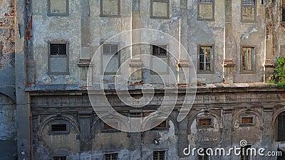bergamo Италия Исторический комплекс Святого Agata, улучшает - как старые тюрьмы Бергама видеоматериал