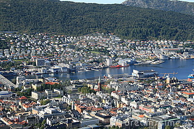 Bergen from the hill