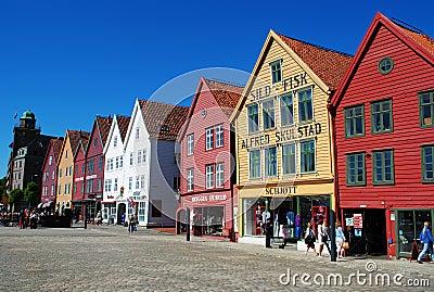 Bergen, Norway Editorial Photography