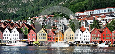 Bergen (Norway) Editorial Stock Image