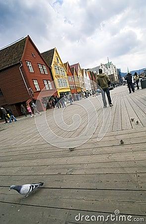 Free Bergen, Unesco City. Stock Photo - 3116370
