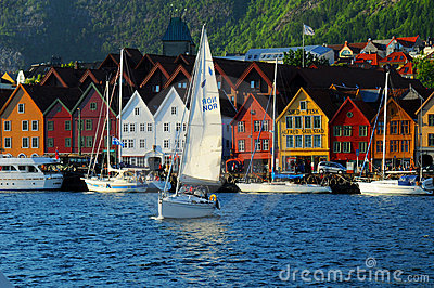 Bergen waterfront, Norway