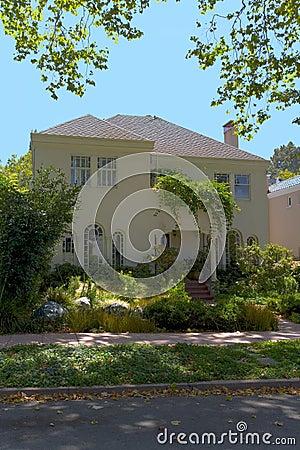 Berkeley Stucco Classic Home