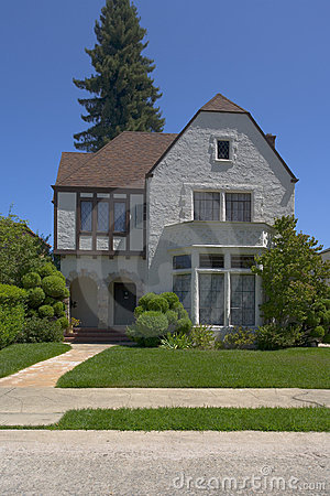 Berkeley Stucco Tudor