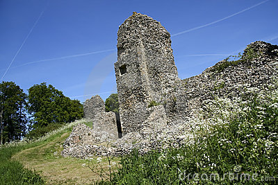 Berkhamsted Castle Ruins Hertfordshire Uk Royalty Free Stock Photography - Image: 14461617