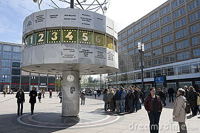 BERLIN - ALEXANDER PLATZ Editorial Image