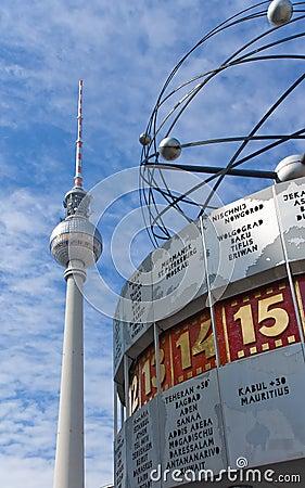 Free Berlin Alexanderplatz With Weltzeituhr Stock Photos - 13946383
