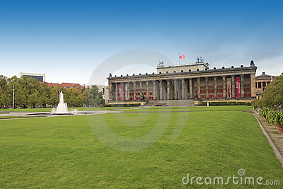 Berlin Altes Museum Editorial Photography