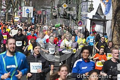 Berlin half marathon Editorial Image