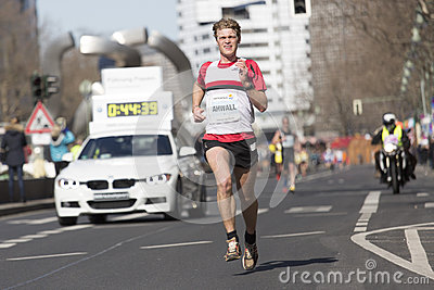 Berlin half marathon Editorial Stock Photo