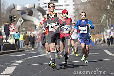 Berlin half marathon Editorial Stock Image