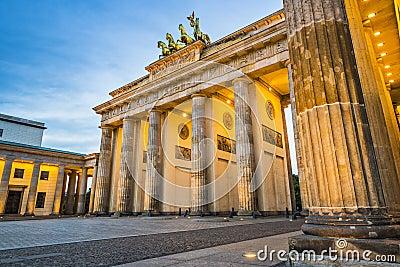 Berlin at Brandenburg Gate