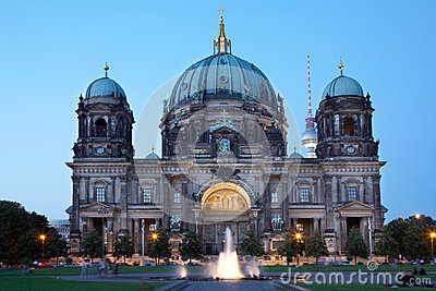 Berlin cathedral or Berliner Dom