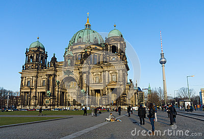 Berlin Cathedral (Berliner Dom) Editorial Photo